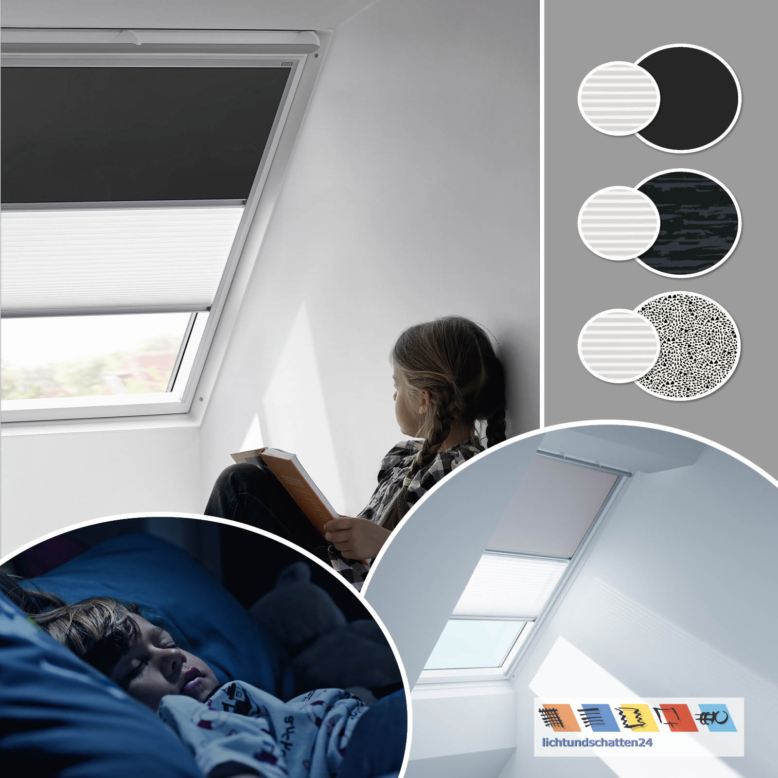 original velux set verdunkelungsrollo u plissee 3009 4562 4573 ggl gpl ggu gpu ebay. Black Bedroom Furniture Sets. Home Design Ideas