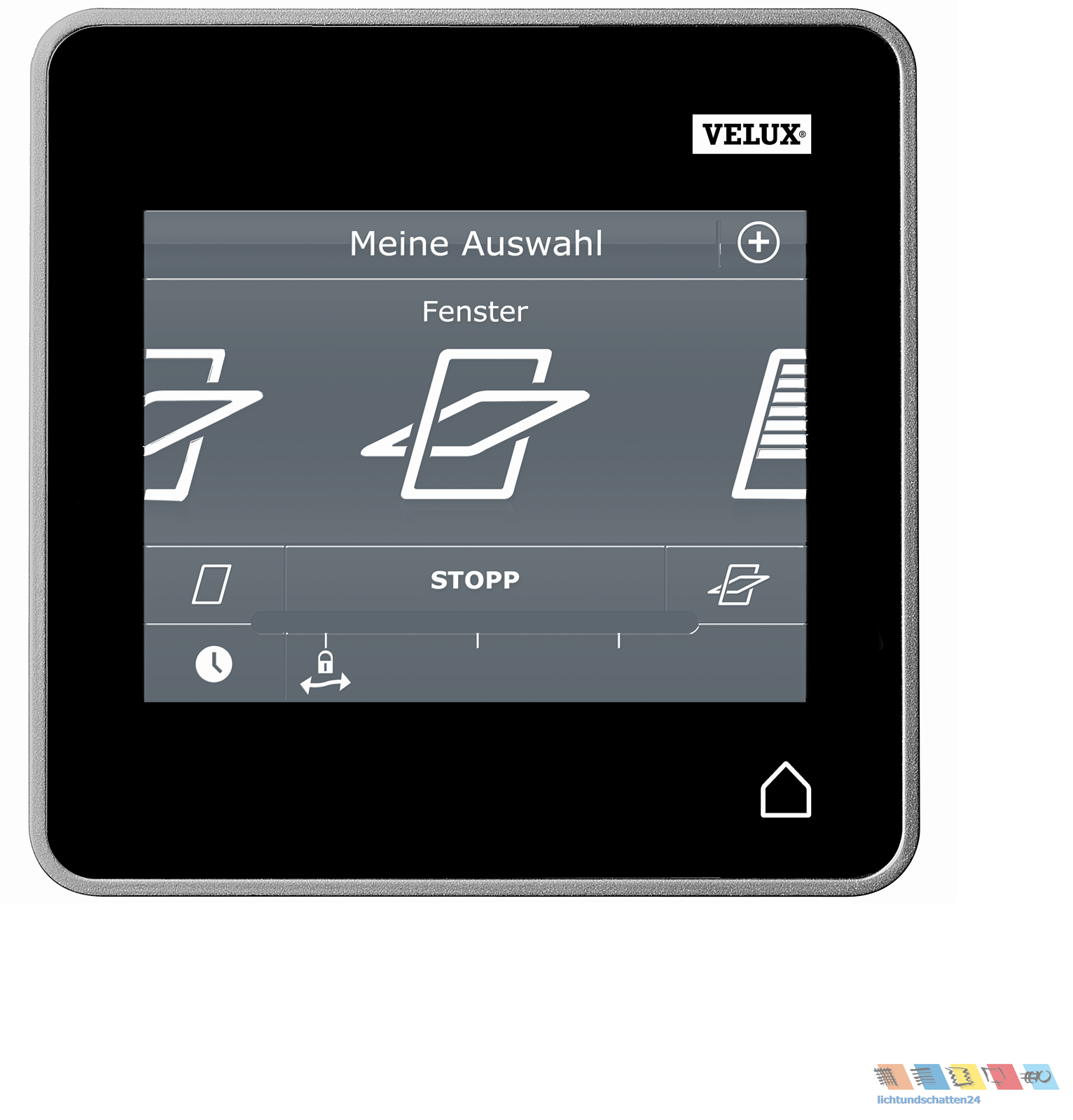 original velux integra control pad touchscreen touchpad. Black Bedroom Furniture Sets. Home Design Ideas