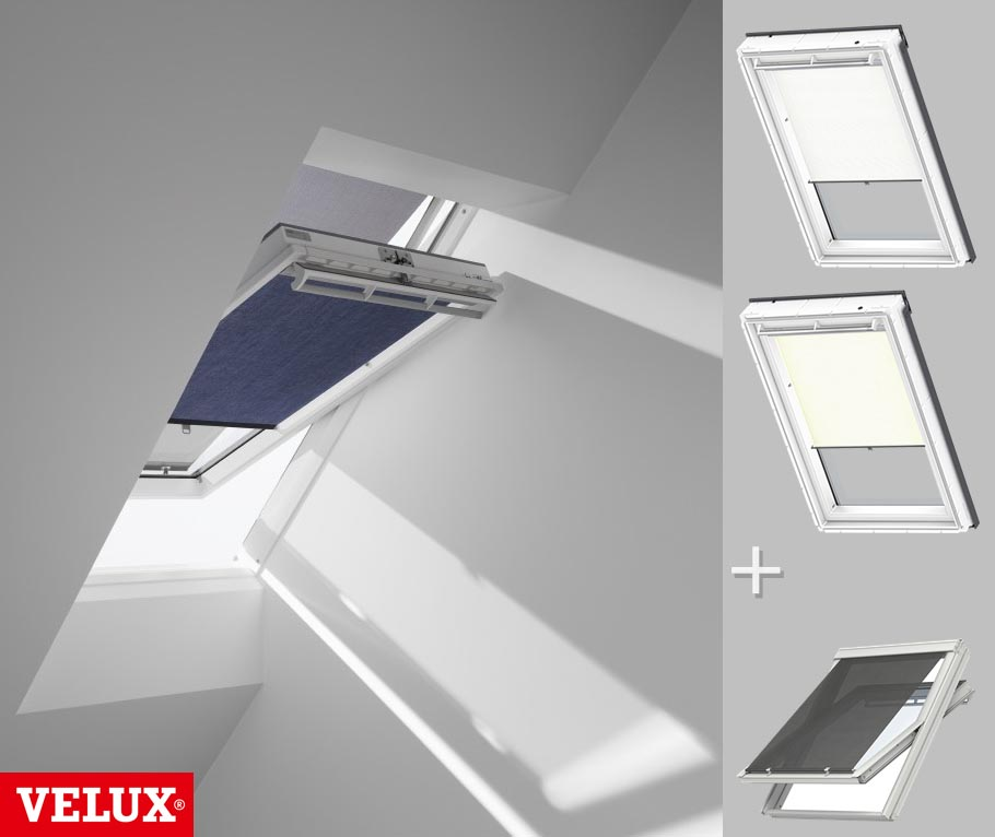 orig velux set sichtschutzrollo hitzeschutz markise f r ggu gpu ghu gtu rop ebay. Black Bedroom Furniture Sets. Home Design Ideas