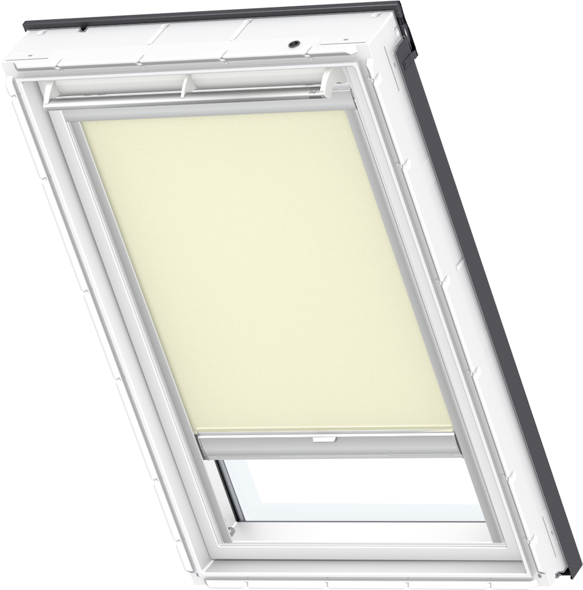 original velux solar sichtschutz rollo weiss beige blau f r ggu gpu ghu gtu gxu ebay. Black Bedroom Furniture Sets. Home Design Ideas