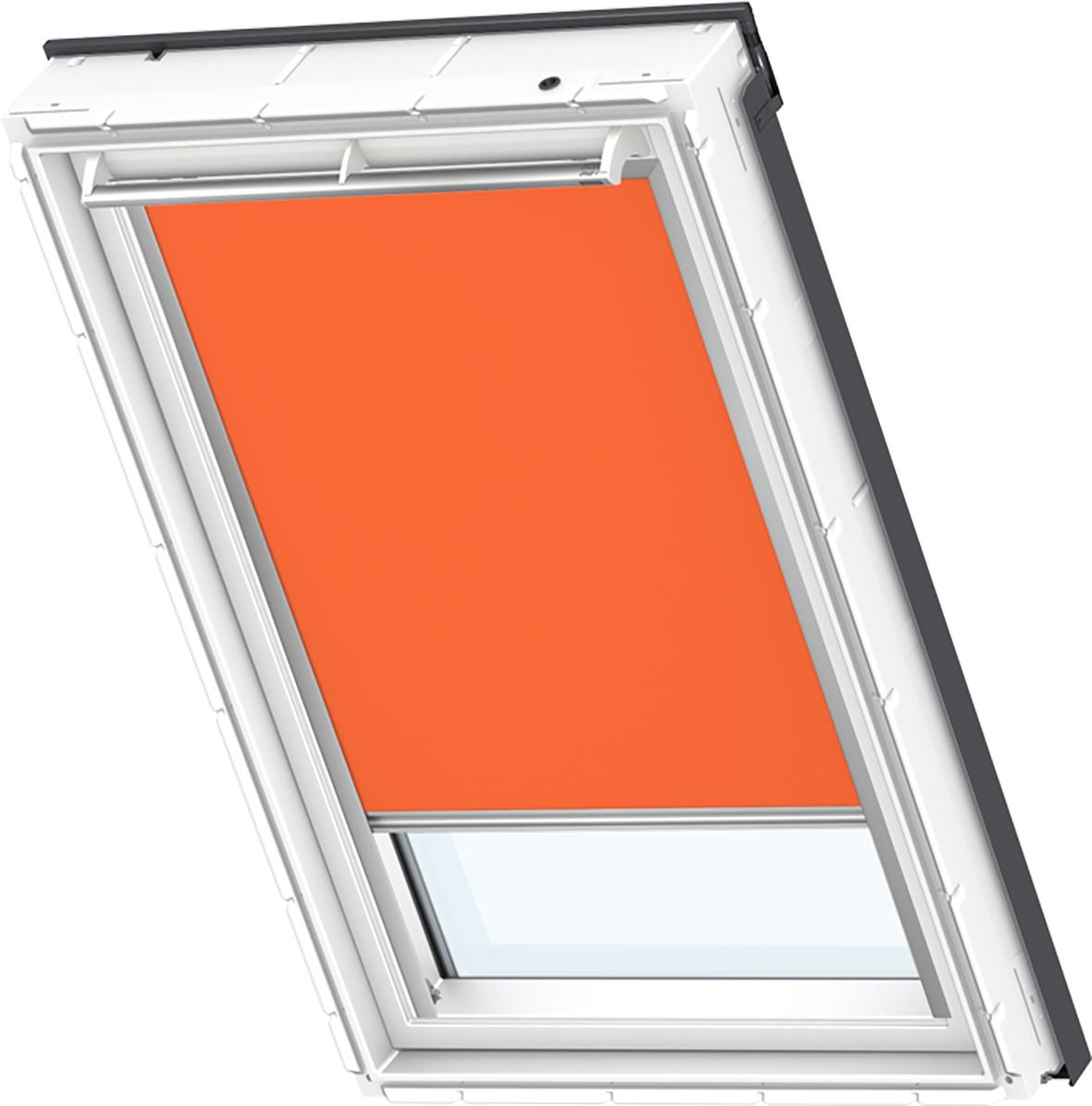 orig velux verdunklungsrollo thermorollo gelb orange ggl. Black Bedroom Furniture Sets. Home Design Ideas