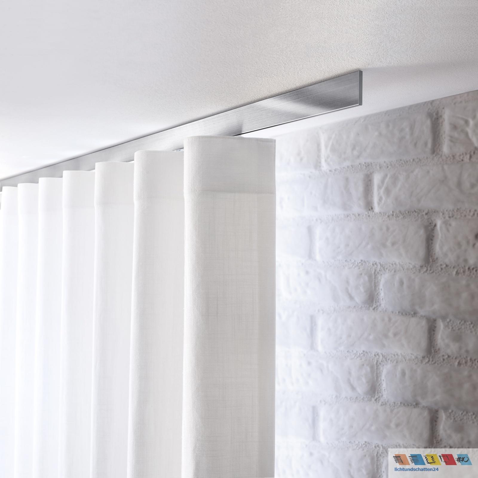 interstil flachprofil vorhangstange aluminium. Black Bedroom Furniture Sets. Home Design Ideas